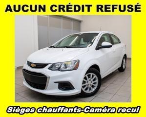 Used 2018 Chevrolet Sonic LT AUTOMATIQUE CAMÉRA RECUL *SIÈGES CHAUFFANTS* for sale in St-Jérôme, QC