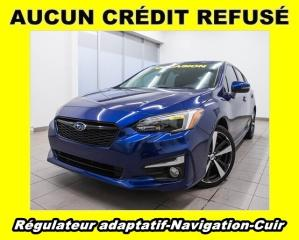 Used 2018 Subaru Impreza SPORT EYESIGHT CUIR NAV *RÉGULATEUR ADAPT* for sale in St-Jérôme, QC
