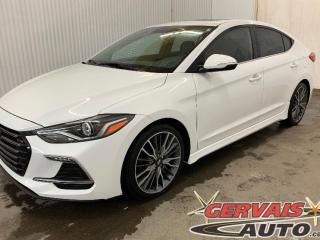Used 2018 Hyundai Elantra Sport 1.6T Turbo Cuir Toit Ouvrant MAGS *201 Hp* for sale in Shawinigan, QC