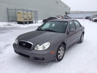 Used 2004 Hyundai Sonata Berline 4 portes GL, moteur quatre cylin for sale in Quebec, QC