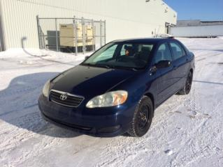 Used 2006 Toyota Corolla 4dr Sdn CE Manual for sale in Quebec, QC