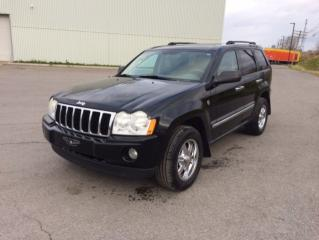 Used 2007 Jeep Grand Cherokee 4 RM 4 portes Laredo for sale in Quebec, QC