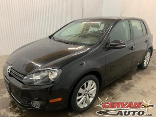 Used 2013 Volkswagen Golf TDI Comfortline A/C MAGS Sièges Chauffants for sale in Shawinigan, QC