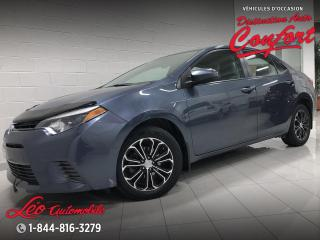 Used 2015 Toyota Corolla Berline 4 portes, boîte manuelle, CE for sale in Chicoutimi, QC