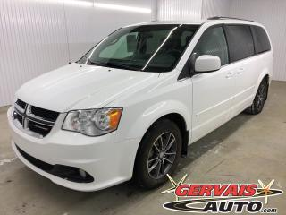 Used 2017 Dodge Grand Caravan SXT Premium Plus Cuir/Tissus Stow N Go MAGS for sale in Shawinigan, QC