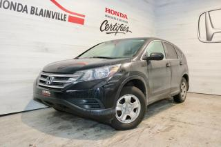 Used 2014 Honda CR-V 2 RM 5 portes LX for sale in Blainville, QC