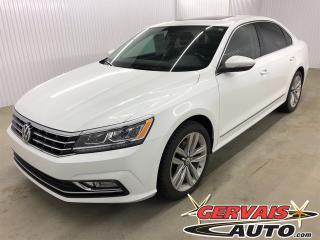 Used 2017 Volkswagen Passat Highline GPS Cuir Toit Ouvrant MAGS Bluetooth for sale in Shawinigan, QC