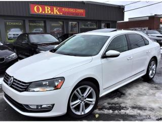 Used 2012 Volkswagen Passat NAVIGATION-TOIT OUVRANT-BLUETOOTH-SIEGES CHAUFFANT for sale in Laval, QC