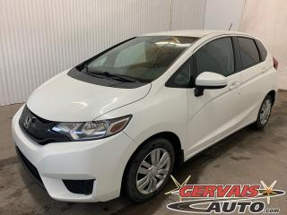 Used 2015 Honda Fit LX CAMÉRA DE RECUL BLUETOOTH SIÈGES CHAUFFANTS for sale in Shawinigan, QC