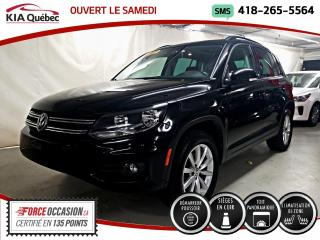 Used 2017 Volkswagen Tiguan WOLFSBURG* AWD* TOIT PANO* CUIR* for sale in Québec, QC