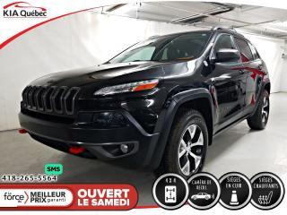 Used 2015 Jeep Cherokee TRAILHAWK* V6* 4X4* CECI EST UN 2016* for sale in Québec, QC