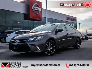 Used 2017 Toyota Camry XSE  - One owner - Non-smoker - $160 B/W for sale in Kanata, ON