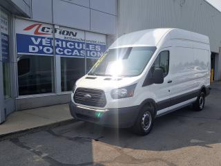 Used 2018 Ford Transit TOIT HAUT, BLUETOOTH, CLOISON, NOUVEL ARRIVAGE!! for sale in St-Hubert, QC