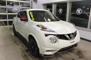 Used 2016 Nissan Juke NISMO RS AWD***MAIN LIBRE***BAS KILOMÉTR for sale in Lévis, QC