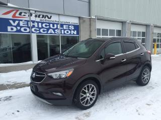 Used 2017 Buick Encore SPORT TOURING AUTO MAG CERTIFIÉ GM for sale in St-Hubert, QC