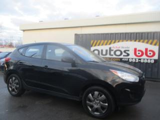 Used 2010 Hyundai Tucson ( 4 CYLINDRES - 8 PNEUS INCLUS ) for sale in Laval, QC