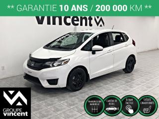 Used 2016 Honda Fit LX ** GARANTIE 10 ANS ** Fiable et Economique for sale in Shawinigan, QC