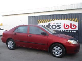 Used 2003 Toyota Corolla 4dr Sdn CE for sale in Laval, QC