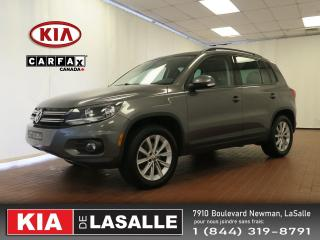 Used 2012 Volkswagen Tiguan Comfortline // AWD // Toit Pano // Cuir // Blueto for sale in Montréal, QC