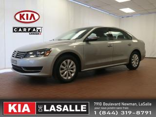 Used 2013 Volkswagen Passat Trendline // A/C // Mags // Sieges Ch.// Bluetooth for sale in Montréal, QC