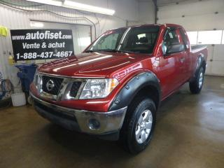 Used 2012 Nissan Frontier 4WD King Cab SWB Auto SV for sale in St-Raymond, QC