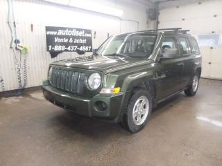 Used 2009 Jeep Patriot FWD 4dr Sport for sale in St-Raymond, QC
