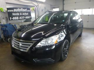 Used 2013 Nissan Sentra 4DR SDN CVT S for sale in St-Raymond, QC