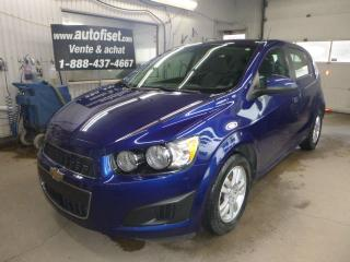 Used 2012 Chevrolet Sonic 5dr Hb Ls for sale in St-Raymond, QC