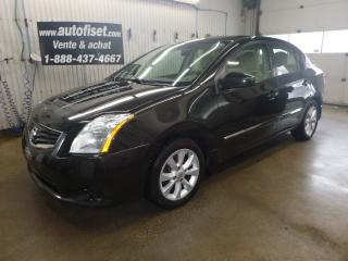 Used 2012 Nissan Sentra 4dr Sdn I4 CVT 2.0 S for sale in St-Raymond, QC