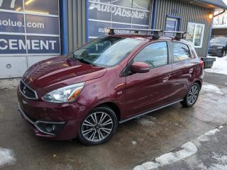 Used 2017 Mitsubishi Mirage Sel + caméra + bluetooth + mag for sale in Boisbriand, QC