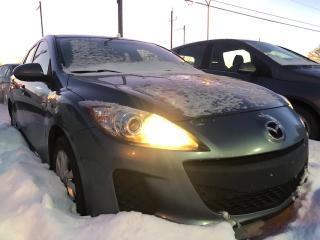 Used 2012 Mazda MAZDA3 Berline 4 portes, boîte automatique, GX for sale in Drummondville, QC