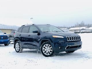 Used 2014 Jeep Cherokee LIMITED V6 4X4 ENS. TECHNOLOGIE for sale in Ste-Marie, QC