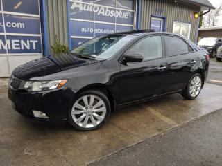 Used 2011 Kia Forte Sx + cuir + toit for sale in Boisbriand, QC