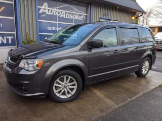 Used 2015 Dodge Grand Caravan Sxt + stow + caméra + dvd for sale in Boisbriand, QC