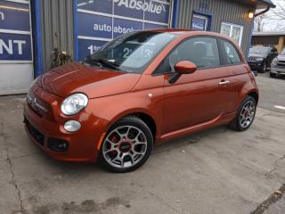 Used 2012 Fiat 500 Sport for sale in Boisbriand, QC