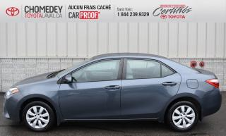 Used 2016 Toyota Corolla LE, AUTOMATIQUE, GR ÉLECTRIQUE for sale in Laval, QC