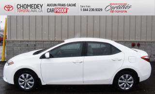 Used 2016 Toyota Corolla LE, automatique for sale in Laval, QC