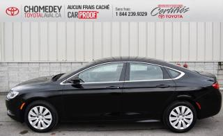 Used 2016 Chrysler 200 LX, AUTOMATIQUE, SEULEMENT 10 187 KM for sale in Laval, QC