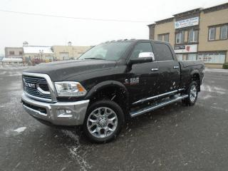 Used 2016 RAM 2500 Longhorn Limited cabine d équipe 4RM 149 for sale in Mirabel, QC