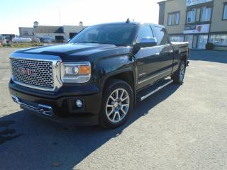 Used 2015 GMC Sierra 1500 4 RM, Cabine multiplaces 143,5 po, Denal for sale in Mirabel, QC