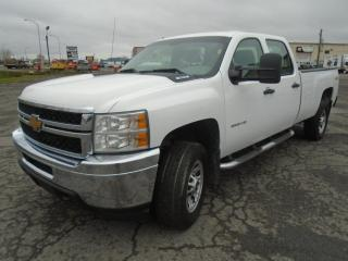 Used 2012 Chevrolet Silverado 3500 4 RM, Cabine allongée, 157,5 po, LT for sale in Mirabel, QC