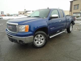 Used 2013 GMC Sierra 1500 4 RM, Cabine allongée, 143,5 po, SLE for sale in Mirabel, QC