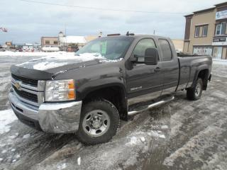 Used 2010 Chevrolet Silverado 2500 4 RM, Cabine allongée, 157,5 po, WT for sale in Mirabel, QC