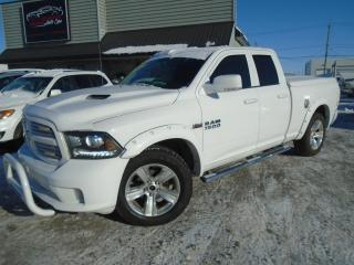 Used 2014 RAM 1500 Cabine quad 4RM, 140,5 po Sport for sale in Mirabel, QC