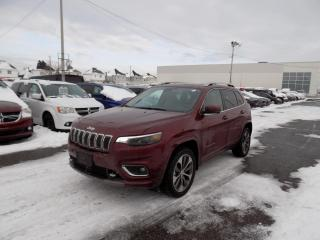 Used 2019 Jeep Cherokee OVERLAND 4X4 *CUIR*TOIT*GPS*TECH PCKG* for sale in Brossard, QC