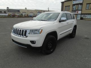 Used 2012 Jeep Grand Cherokee 4 RM 4 portes Overland for sale in Mirabel, QC