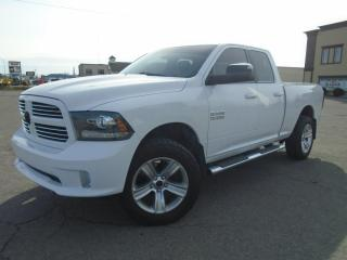 Used 2015 RAM 1500 Cabine quad 4RM, 140,5 po Sport for sale in Mirabel, QC