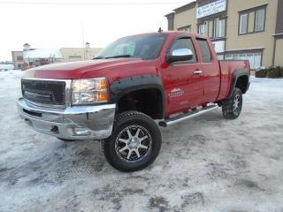 Used 2012 Chevrolet Silverado 1500 4 RM, Cabine allongée, 143,5 po, LT for sale in Mirabel, QC