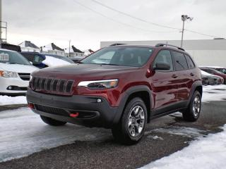 Used 2019 Jeep Cherokee TRAILHAWK 4X4 * APPLE CARPLAY * V6 * for sale in Brossard, QC