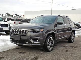 Used 2019 Jeep Cherokee OVERLAND 4X4 *CUIR*GPS*TECH PCKG* for sale in Brossard, QC